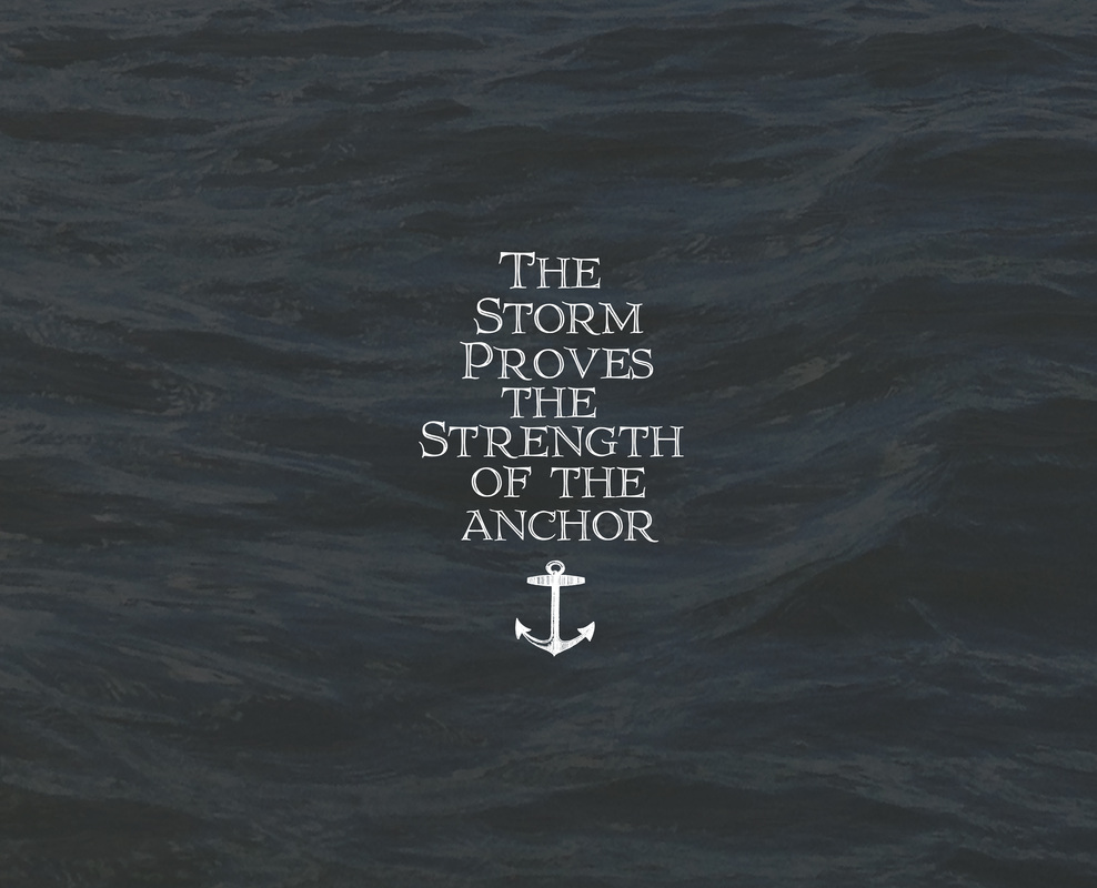 My Anchor Holds - Julia Hendrickson